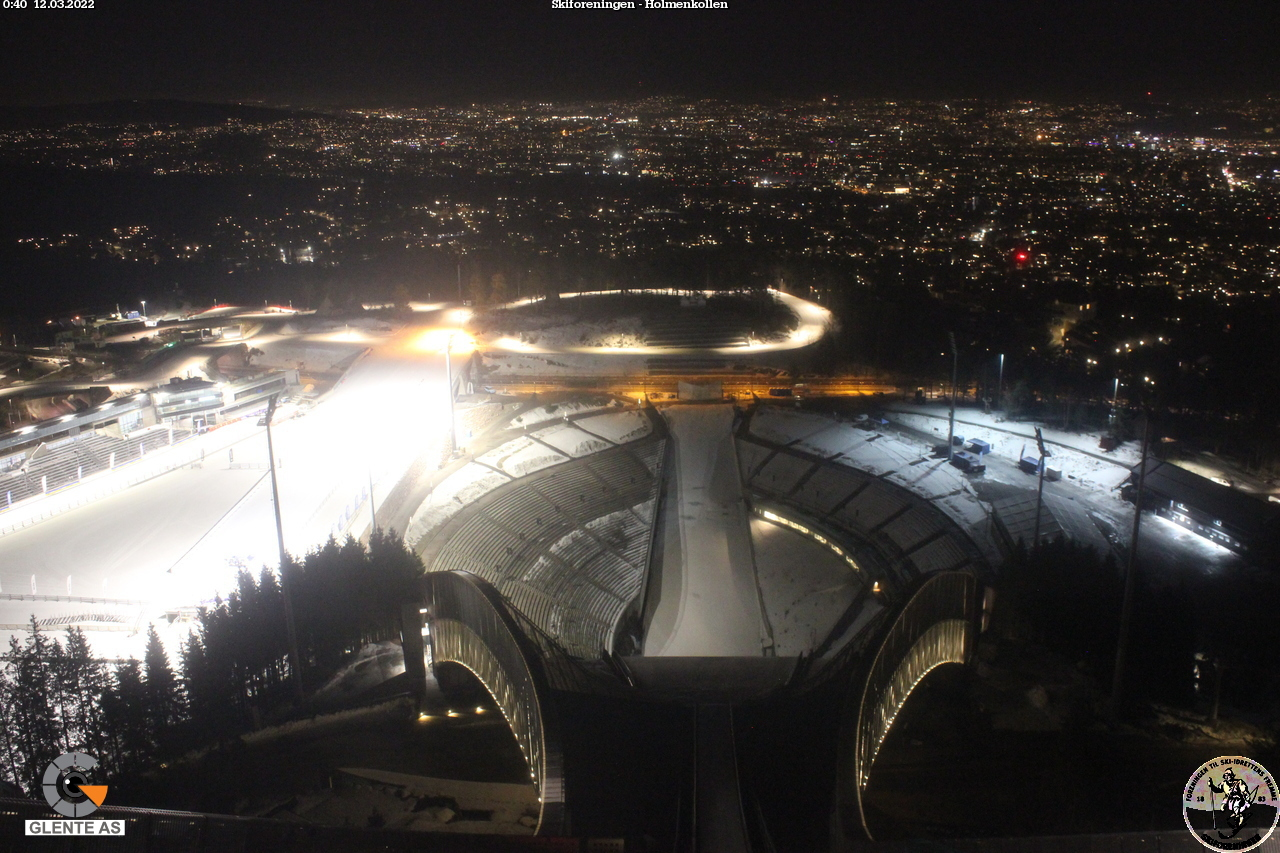 Webcam Holmenkollen National Ski Arena 3 - Norway&nbsp;Live webcamera