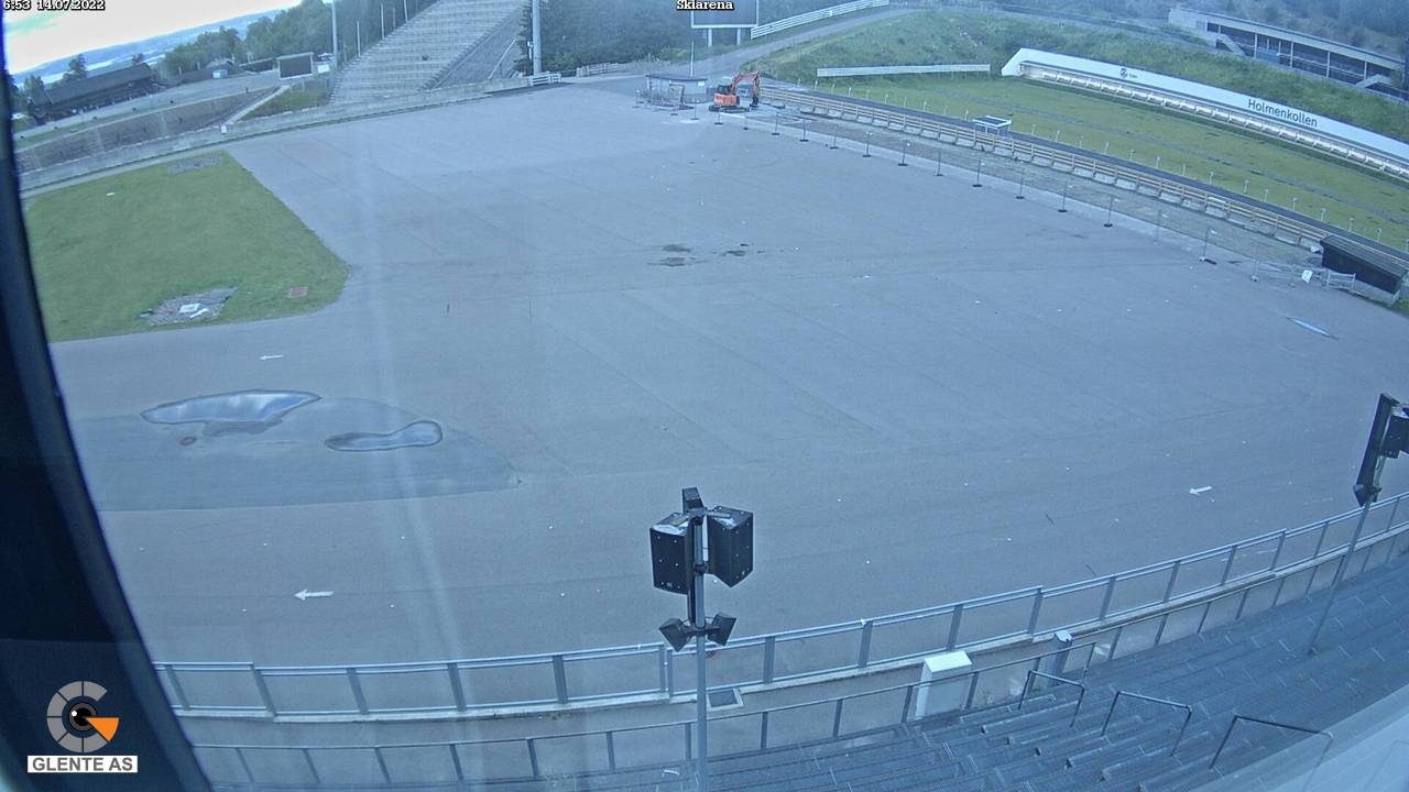 Oslo - Holmenkollen; ski arena